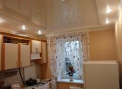 Потолок в маленькой кухне — варианты дизайна
