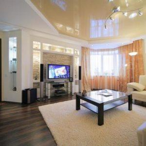 Как красиво сделать потолок в зале?