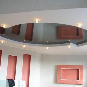 Гипсокартонный и натяжной потолок — как их совместить?