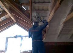 Как изнутри утеплить шиферную крышу?