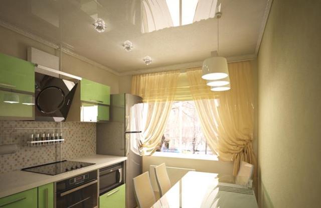 Дизайны кухни 9 кв.м в панельном доме с балконом