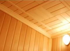 Потолок в сауне своими руками — требования и порядок отделки