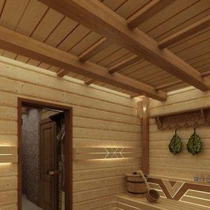 Баня с холодным чердаком — устройства потолка