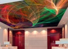 Особенности и разновидности декоративных натяжных потолков