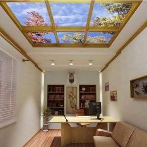 Фальш окно на потолке — особенности и варианты создания