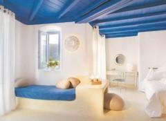 Использование в интерьере крашеного потолка из досок