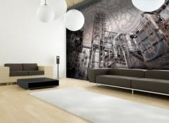 Стена из натяжного потолка — монтаж