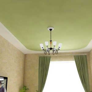 Матерчатые натяжные потолки — особенности и примеры
