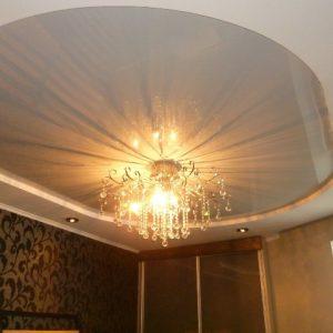 Овальные натяжные потолки — преимущества и недостатки