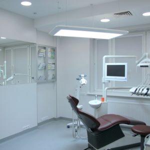 Особенности оформления потолков в медицинских и стоматологических кабинетах