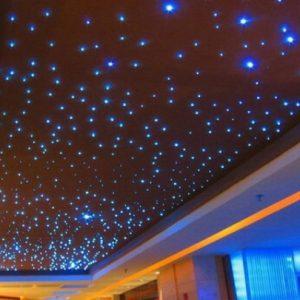 Подвесные потолки с эффектом «звездного неба»