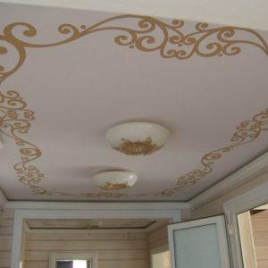 Варианты и примеры использования натяжных потолков с орнаментом