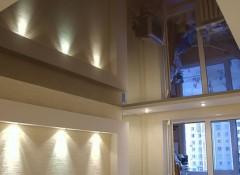 Использование в панельном доме натяжных потолков