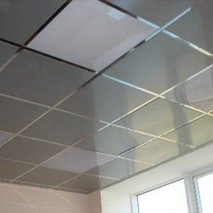 Варианты моющихся подвесных потолков