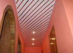 Особенности и порядок монтажа панельных потолков в прихожей