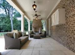 Из чего сделать потолок на веранде?