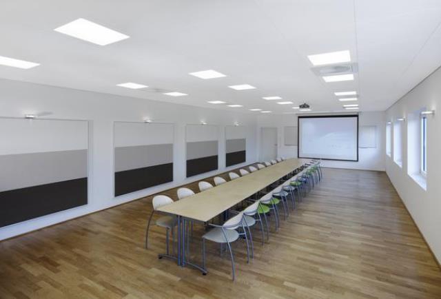 Виды и особенности применения звукопоглощающих подвесных потолков
