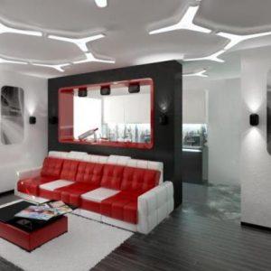 Особенности и разновидности плоских светодиодных потолочных светильников