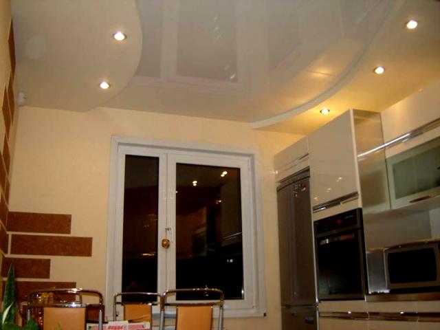 Как сделать потолки из гипсокартона на кухне