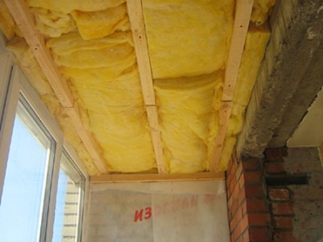 Как сделать потолок на балконе своими руками: материалы и те.
