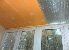 Варианты материалов для утепления потолка на лоджии