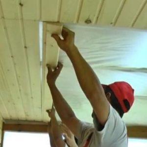 Как своими руками утеплить потолок веранды изнутри?