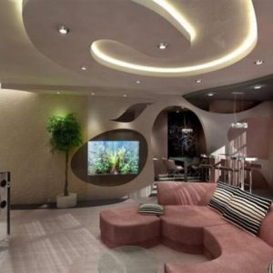 Потолок в квартире — варианты отделки