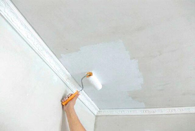 Как сделать потолка на краску 935