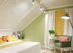 Варианты создания наклонных подвесных потолков