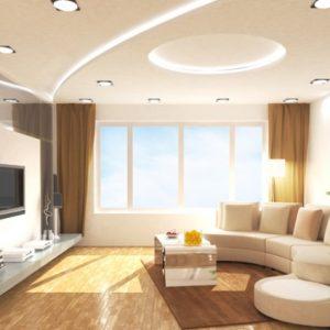 Преимущества и примеры стильных потолков из гипсокартона