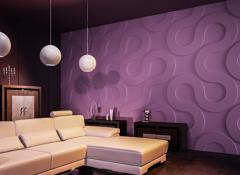 Преимущества и особенности монтажа 3d гипсовых панелей для стен