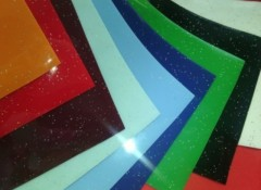 Особенности и применение натяжных потолков с блестками