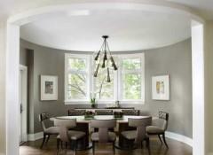 Особенности и материалы для создания потолка в круглой комнате
