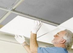 Какие существуют съемные потолки?