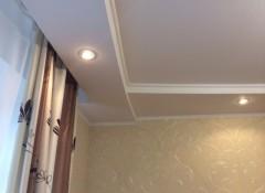 Выступ на потолке из гипсокартона — как их сделать?