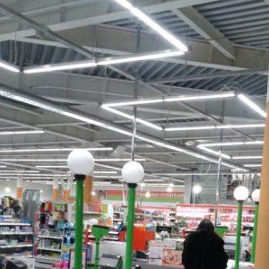 Виды и особенности модульных светильников для торговых площадей