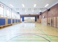 Какой потолок можно сделать в спортзале?