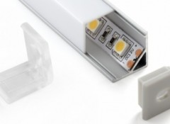 Варианты и типы карнизов к натяжным потолкам с подсветкой