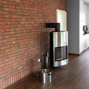 Использование для внутренней отделки стен клинкерной плитки