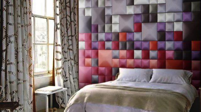 Декор стен своими руками: доски для заметок и тканевые