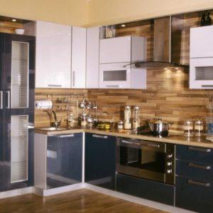 Особенности отделки ламинатом стен кухни