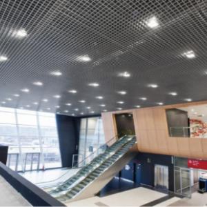 Какие делают потолки в торговых центрах?