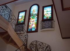 Основные варианты имитации окна на стене с подсветкой
