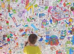 Что собой представляют обои-раскраски для стен?