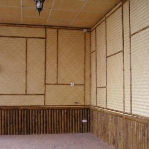 Особенности применения, плюсы и минусы бамбуковых панелей для стен