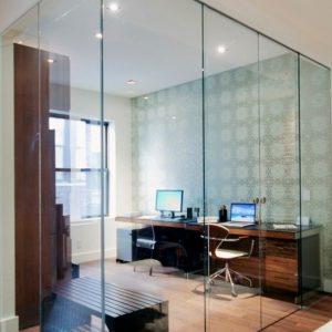 Виды и особенности применения в дизайне стеклянных стен