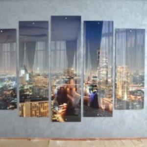Особенности и варианты применения стеклянных панно на стену