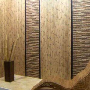 Как правильно клеить бамбуковые обои?