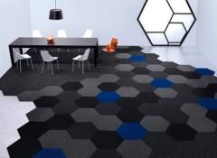 Особенности, плюсы и минусы ковровой плитки для пола