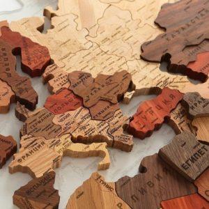 Виды и особенности объемных карт мира на стену
